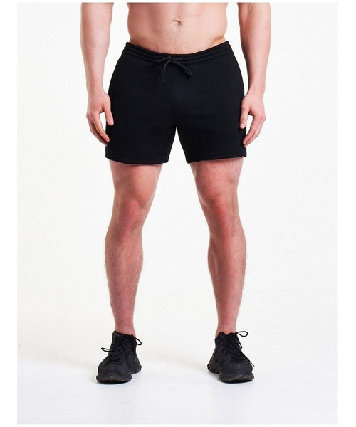 Pursue Fitness Icon Tapered Shorts Black-Pursue Fitness-Gym Wear