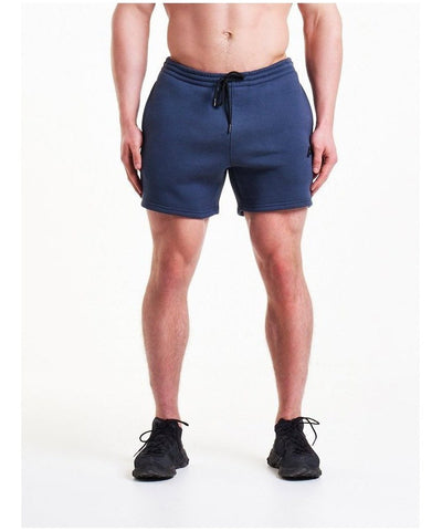 Pursue Fitness Icon Tapered Shorts Navy-Pursue Fitness-Gym Wear