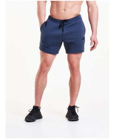 Pursue Fitness Icon Tapered Shorts Navy