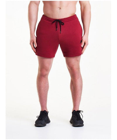 Pursue Fitness Icon Tapered Shorts Blood Red