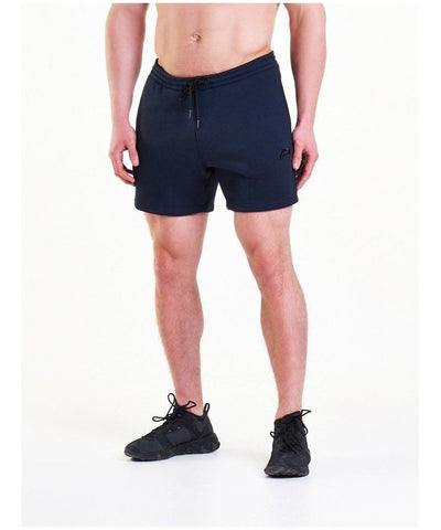 Pursue Fitness Icon Tapered Shorts Dark Navy-Pursue Fitness-Gym Wear