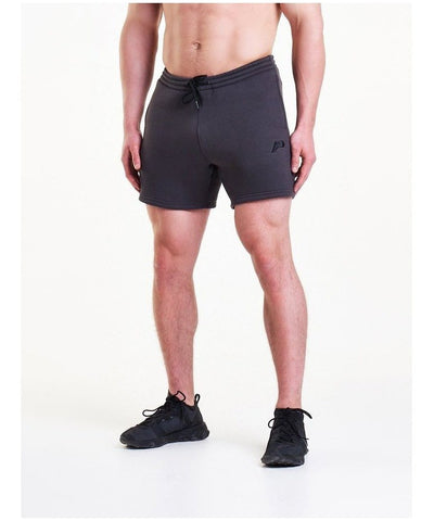 Pursue Fitness Icon Tapered Shorts Slate-Pursue Fitness-Gym Wear