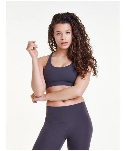 Pursue Fitness Evolve Sports Bra Grey-Pursue Fitness-Gym Wear