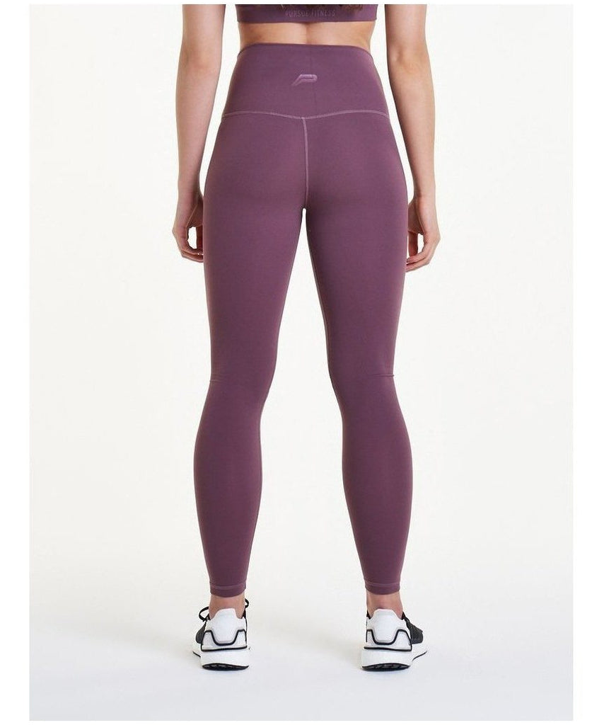 Pursue Fitness Evolve High Waisted Leggings Berry-Pursue Fitness-Gym Wear