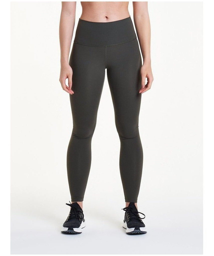 Pursue Fitness Evolve High Waisted Leggings Khaki-Pursue Fitness-Gym Wear