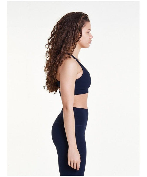 Pursue Fitness Evolve Sports Bra Navy-Pursue Fitness-Gym Wear