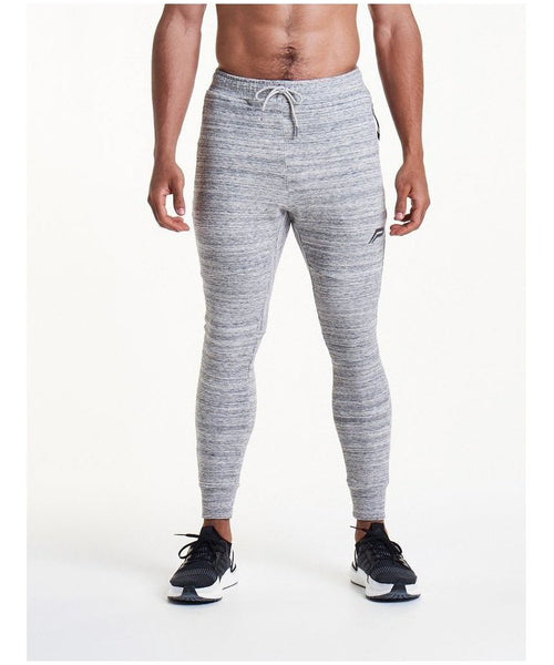 Pursue Fitness Stretch Fit Cuffed Joggers Grey-Pursue Fitness-Gym Wear