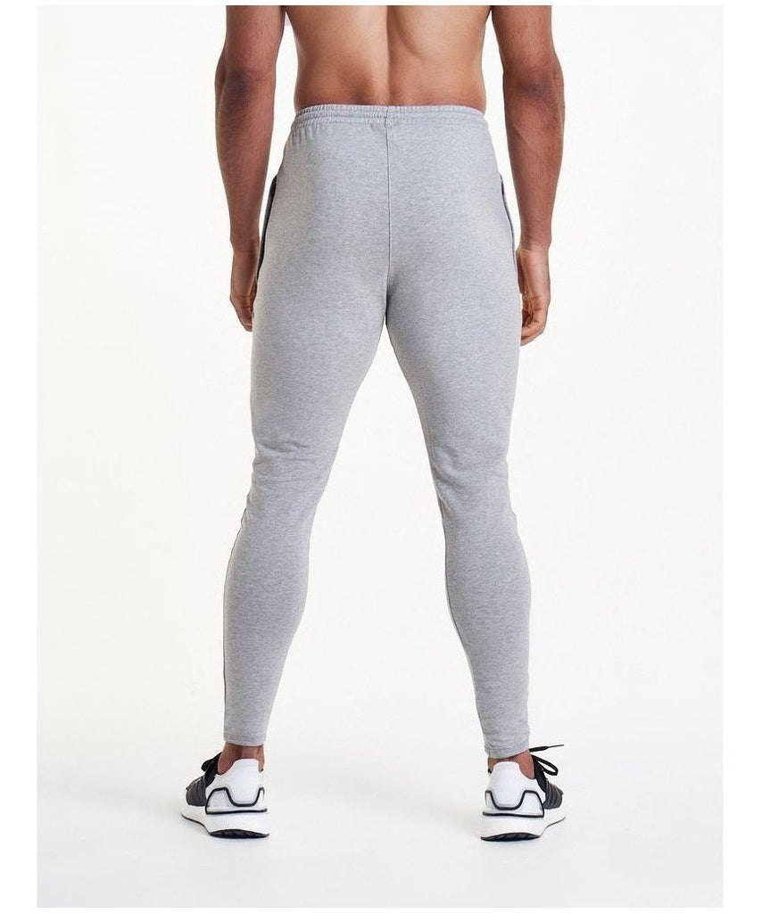 a9d3988109d9 Pursue Fitness Pro Fit Tapered Joggers Grey-Pursue Fitness-Gym Wear