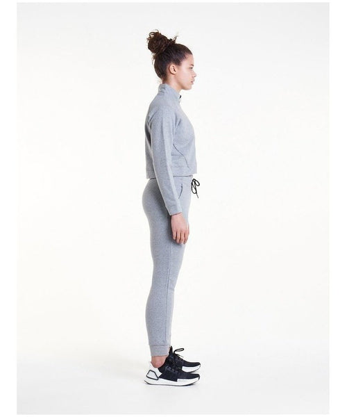 Pursue Fitness Retro Lounge Fleece Joggers Grey-Pursue Fitness-Gym Wear