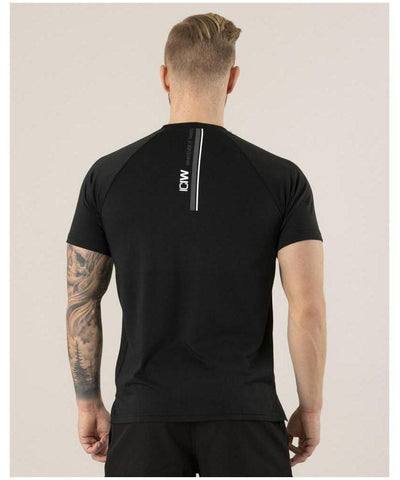 ICIW Training T-shirt Black-ICIW-Gym Wear