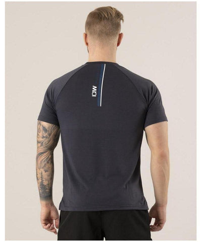 ICIW Training T-shirt Grey-ICIW-Gym Wear