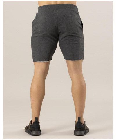ICIW Clean Cut Shorts Dark Grey-ICIW-Gym Wear