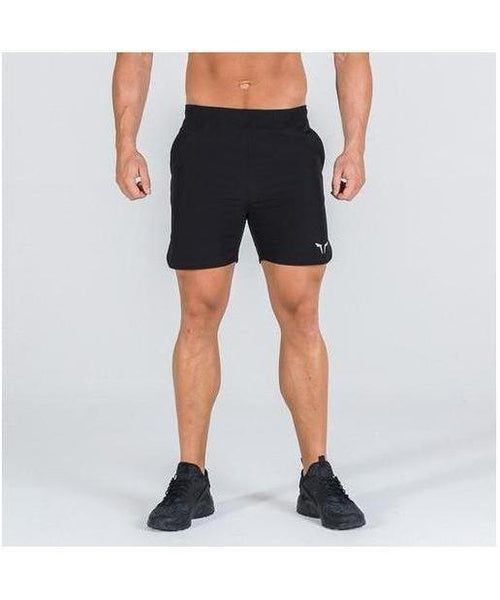 Squat Wolf 2-in-1 Dry Tech Shorts Black-Squat Wolf-Gym Wear
