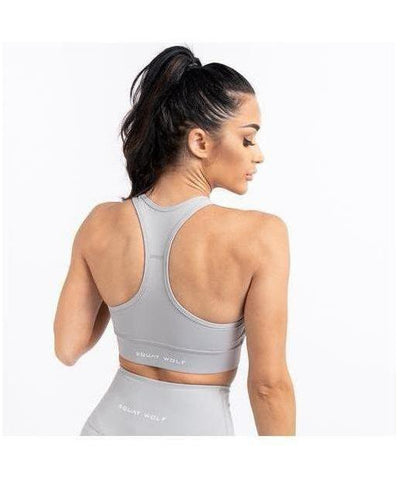 Squat Wolf Hera Sports Bra Stone-Squat Wolf-Gym Wear