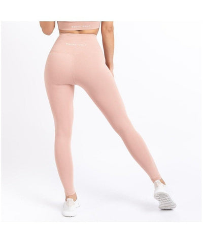 Squat Wolf Hera High Wasited Leggings Blush-Squat Wolf-Gym Wear