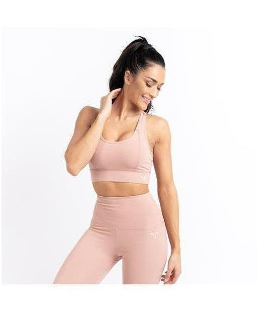 Squat Wolf Hera Sports Bra Blush-Squat Wolf-Gym Wear