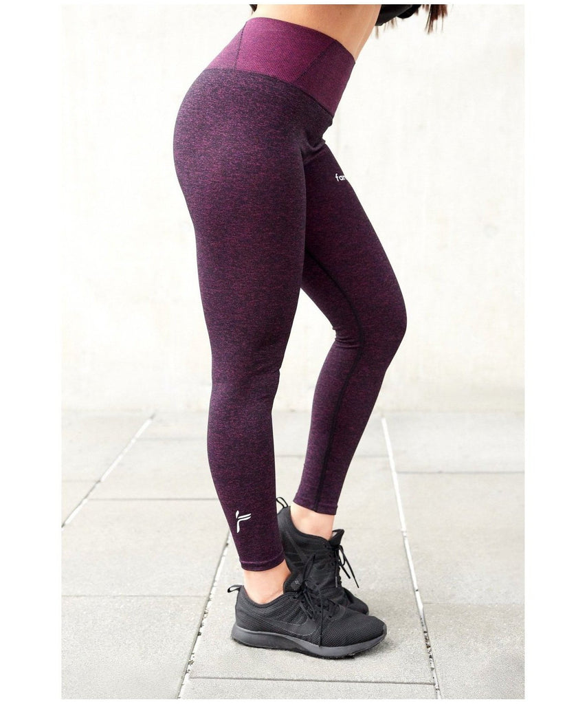 492c0f5085 Famme Essential Seamless High Waisted Leggings Lavender-Famme-Gym Wear