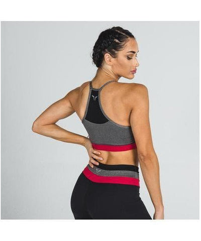 Squat Wolf Palette Sports Bra Black-Squat Wolf-Gym Wear