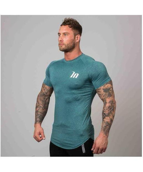 Muscle Nation ClimaFlex T-Shirt Mint Green-Muscle Nation-Gym Wear