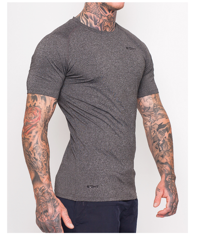 Echt Impetus Tapered T-Shirt Obsidian