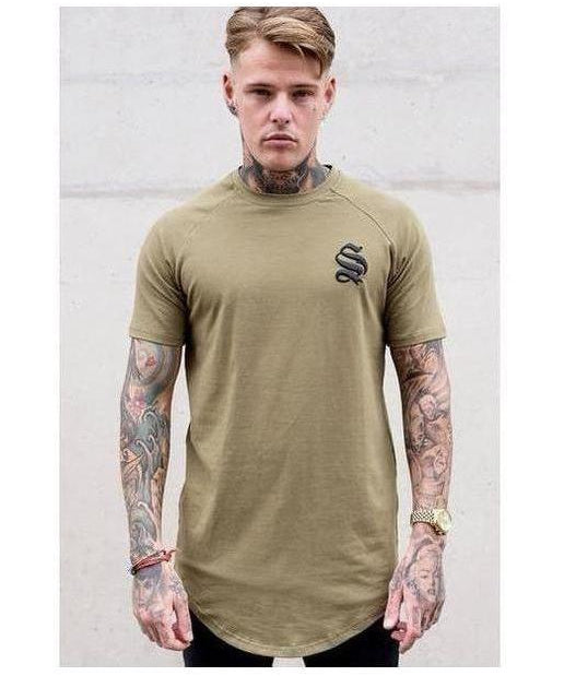 Image of Sinners Attire Core T-Shirt Khaki