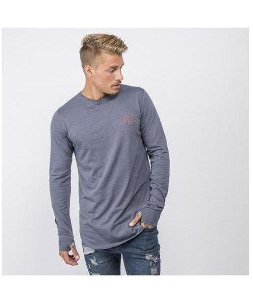 Image of Masters Of Ceremony Boston Long Sleeve T-Shirt Steel