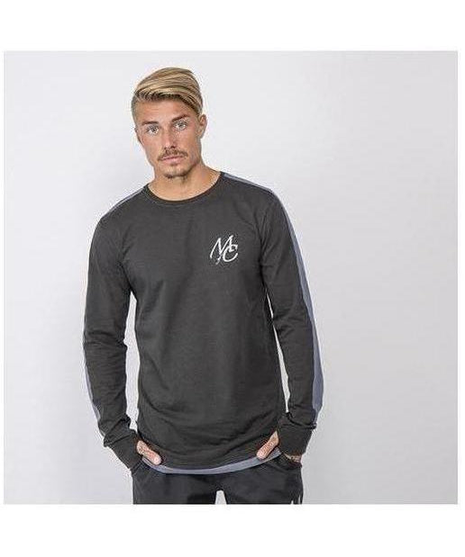 Image of Masters Of Ceremony Devers Long Sleeve T-Shirt Black
