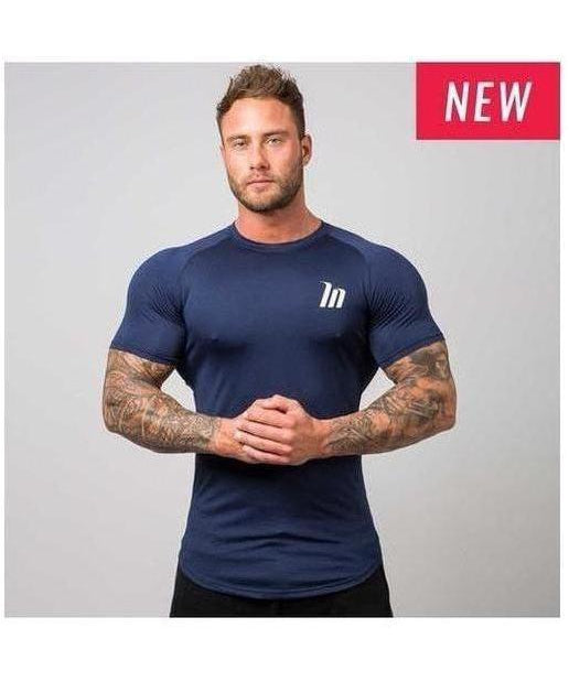 Image of Muscle Nation ClimaFlex T-Shirt Navy