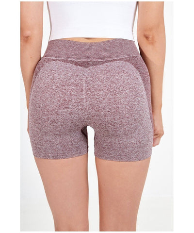 Famme Seamless Shorts Bordeaux-Famme-Gym Wear