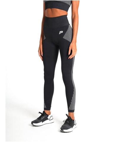 Pursue Fitness ADAPT Seamless Leggings Black-Pursue Fitness-Gym Wear