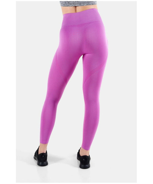 Famme Vortex High Waisted Leggings Orchid-Famme-Gym Wear
