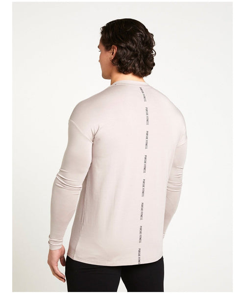 Pursue Fitness Ultra Lifestyle Long sleeve T-Shirt Grey