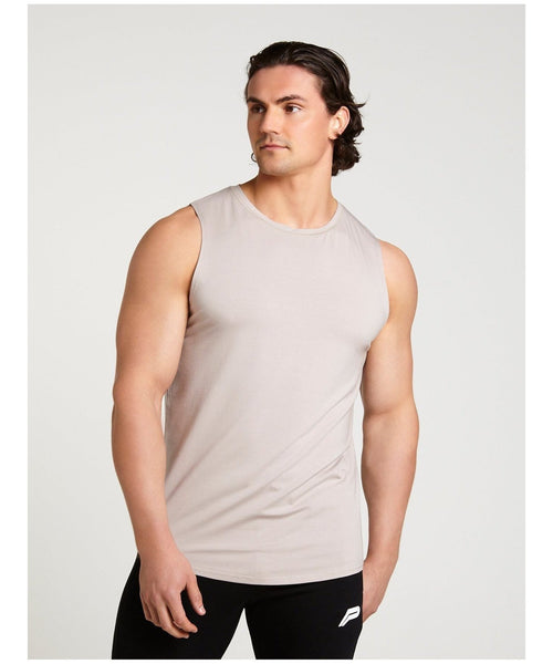Pursue Fitness Ultra Lifestyle Tank Grey-Pursue Fitness-Gym Wear