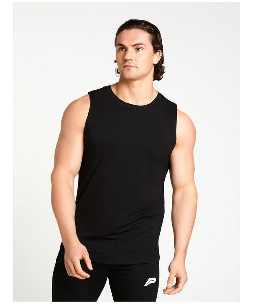 Pursue Fitness Ultra Lifestyle Tank Black-Pursue Fitness-Gym Wear