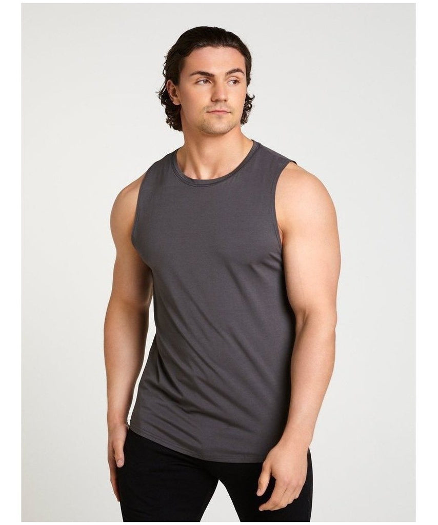 Pursue Fitness Ultra Lifestyle Tank Slate-Pursue Fitness-Gym Wear