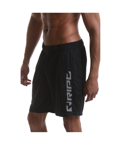 RIPT Performance Shorts Black-RIPT-Gym Wear