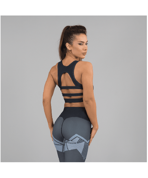 Versa Forma Ark Crop Bra Dark Edition-Versa Forma-Gym Wear
