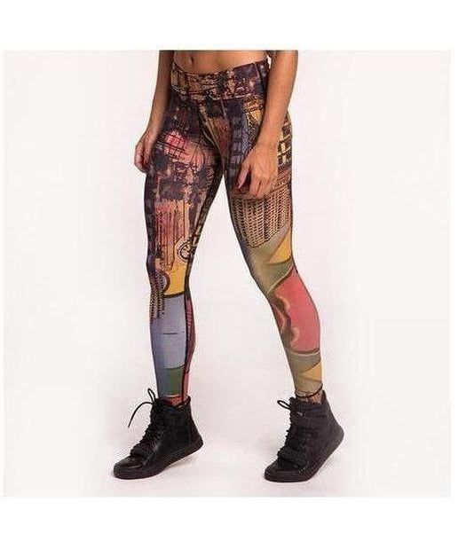 Image of Graffiti Beasts SKI Fitness Leggings