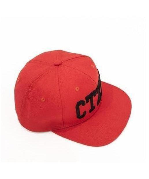 Citizen Zeus Snapback Cap Red/Black-Citizen Zeus-Gym Wear
