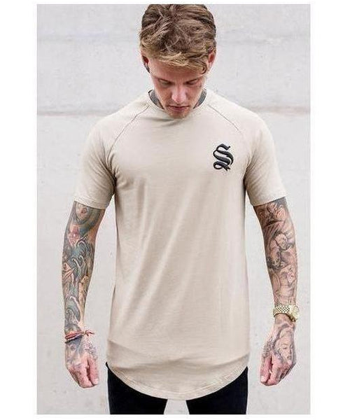 Sinners Attire Core T-Shirt Sand-Sinners Attire-Gym Wear