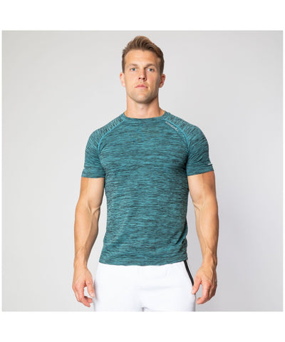 ICIW Seamless T-Shirt Mint Green-ICIW-Gym Wear