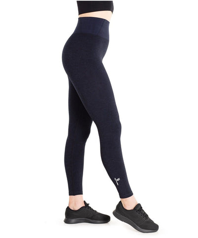 Famme Essential Seamless High Waisted Leggings Blue