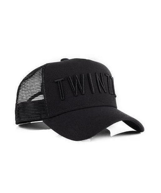 Image of Twinzz 3D Mesh Trucker Cap Black