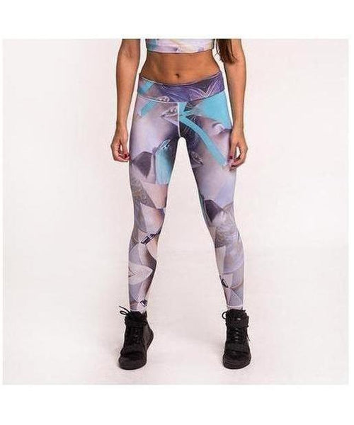 Graffiti Beasts Telmo & Miel Fitness Leggings-Graffiti Beasts-Gym Wear