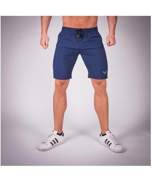 Squat Wolf Essential Light Mesh Shorts Blue-Squat Wolf-Gym Wear