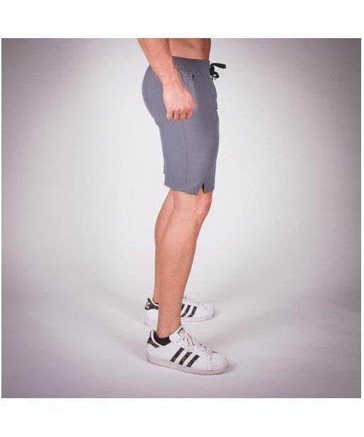 Squat Wolf Essential Light Mesh Shorts Grey-Squat Wolf-Gym Wear
