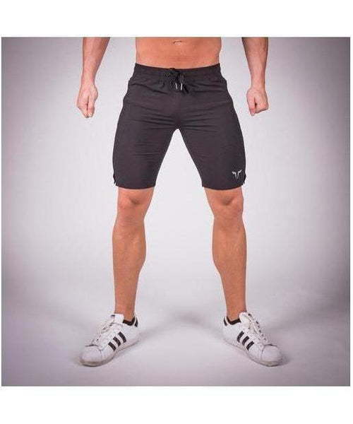 Squat Wolf Essential Light Mesh Shorts Black-Squat Wolf-Gym Wear