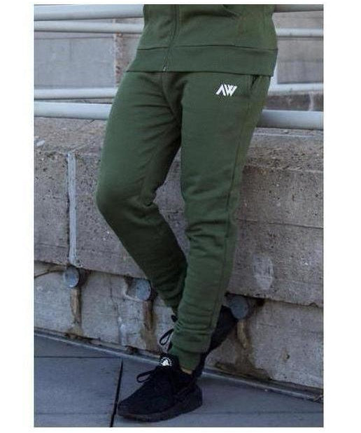Image of Aspire Wear Luxe Joggers Khaki