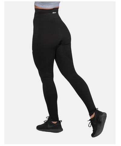 Womens Echt Arise High Waisted Leggings Black-Echt-Gym Wear