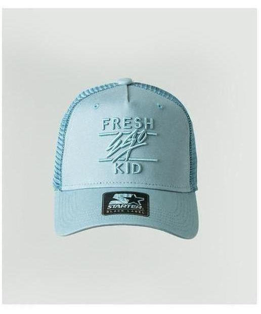 Fresh Ego Kid Mesh Trucker Cap Baby Blue